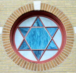 Star of David Window